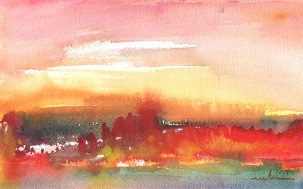 Le Coucher de Soleil en Peinture