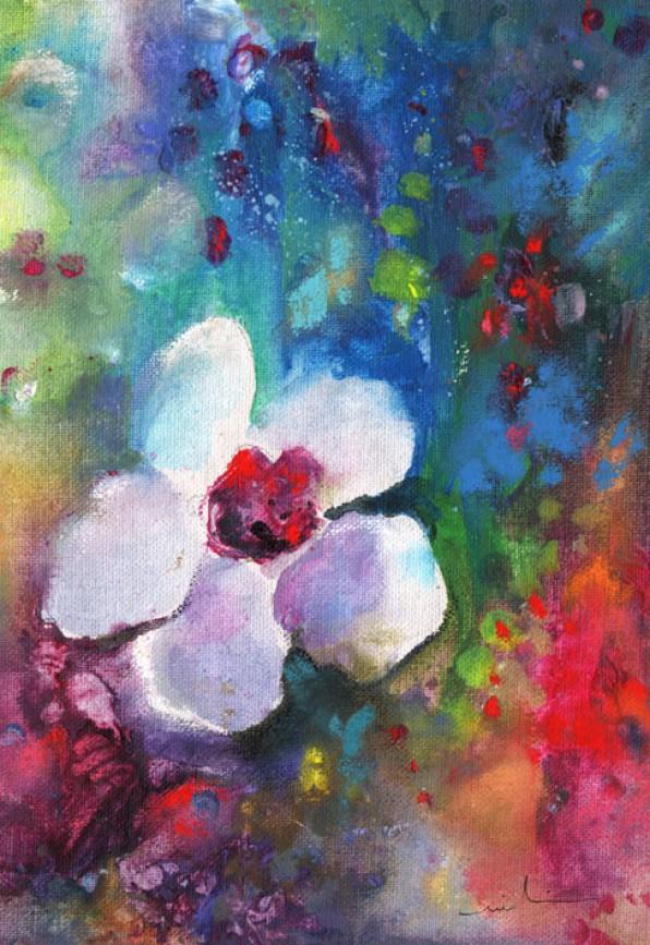Fleurs Acrylique
