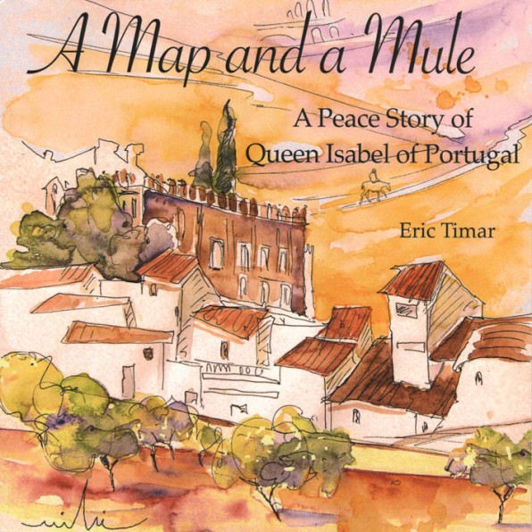 Portugal en Peinture: Une Carte et Une Mule