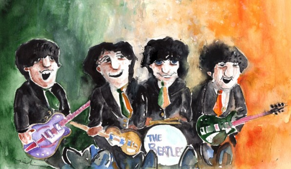 Les Beatles en Irlande