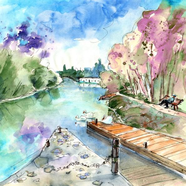 Bray-sur-Seine en Peinture