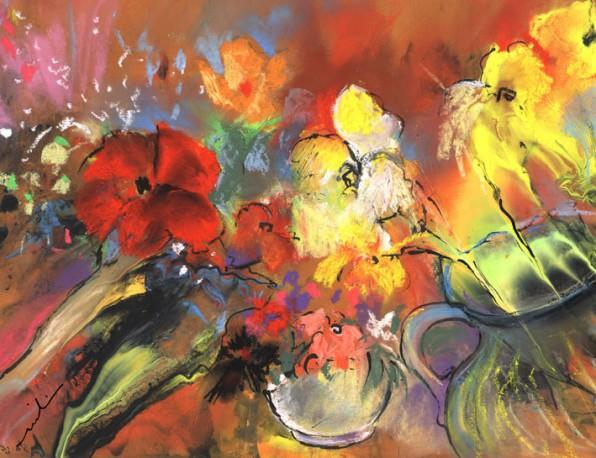 Nouveaux Tableaux de Fleurs – Octobre 2013