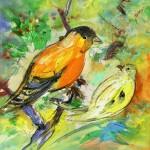 Les Oiseaux en Peinture