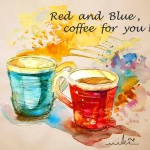 Le Rouge et le Bleu