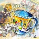 Mug de Memphis USA