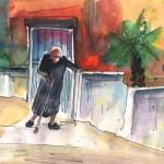 Vieillir Seule en Crète