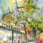 Starbucks Cafe In Budabest