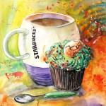Starbucks Mug et Cupcake de Pâques