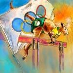Olyver, Le Kangourou Olympique