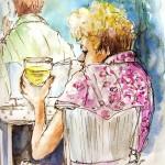 Femme et Bière