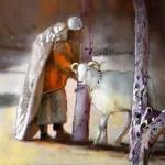 Homme et Mouton