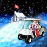 Père Noël au Golf