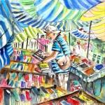 Turre – Vendeur de Livres au Marché