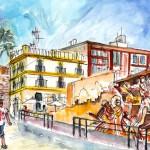 La Vieille Cathédrale à Carthagène 02