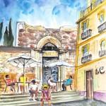 La Vieille Cathédrale à Carthagène 01