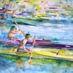 Course de canoe