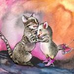 Chat et Souris Réunis