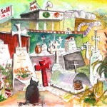 Chat au Cimetière
