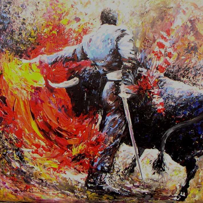 La Corrida en Peinture - Tableaux de tauromachie par Miki de Goodaboom