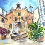 Église Del Carmen à Carthagène
