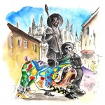 Tolède – Le Chien du Quichotte