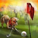 Chiens et Balles de Golf 01