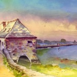 Bretagne – Maison Au Bord De L'Eau