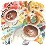 Churros et Chocolat Chaud à Tenerife