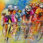 Le Tour de France 03 Acrylique
