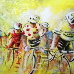 Le Tour de France 07 Acrylique