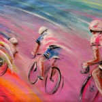 Le Tour de France 16 Acrylique