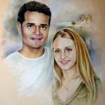 Couple Français et Espagnol