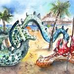 Le Dragon De Peniscola
