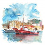 Bateau Rouge à Carthagène