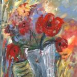 Fleurs Rouge en Vase