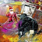 Papa Noël toréador