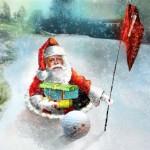 Père Noël dans Le Trou