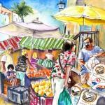 Turre – Vendeur de Pommes de Terre au Marché