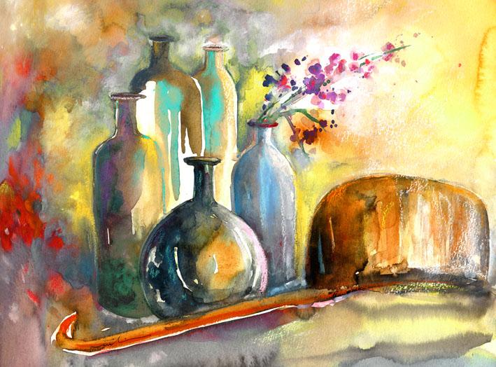 Rencontre aquarelle