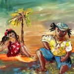 Échouée à Tahiti