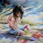 Enfant au Couteau