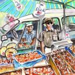Turre – Vendeur de Fruits Secs au Marché