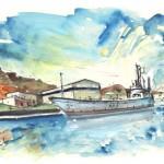 Bateau de Guerre à Carthagène