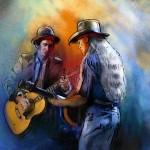 Willie Nelson et Keith Richards