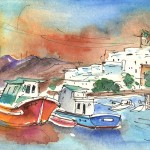 Lanzarote en Peinture: Puerto del Carmen