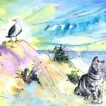 Les Mouettes et Les Chats de Calpe