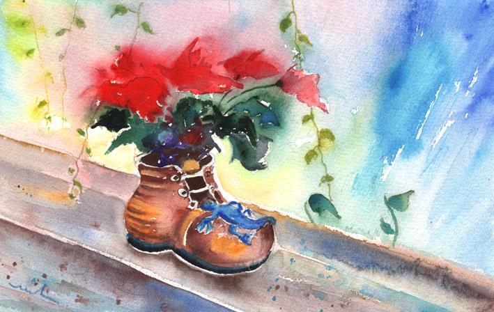 Peintures et esquisses de gran canaria miki de goodaboom for Peinture crocodile