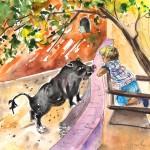 Le Petit Garçon et Le Cochon Noir