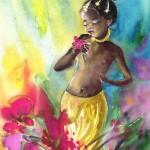 La Petite Princesse et La Fleur