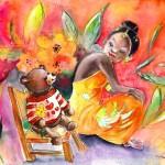 La Petite Princesse et le Petit Ours Amoureux